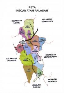 Peta Kecamatan OK